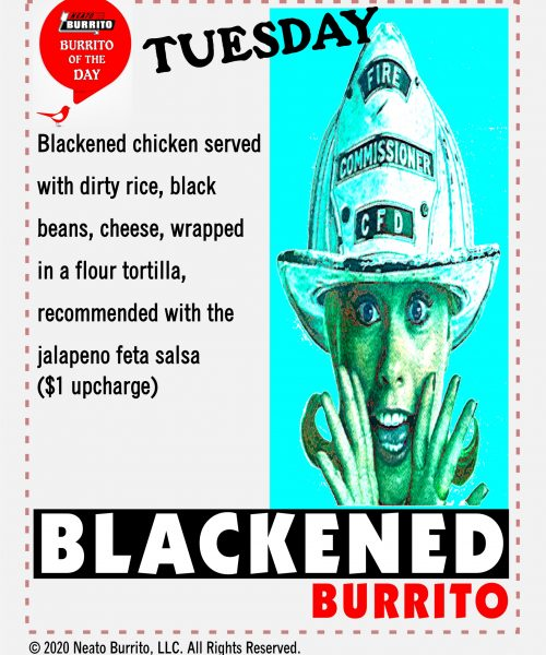 Blackened Chicken Sep 2020 - no price